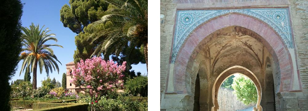 Alhambra-Gartenanlage & Alhambra-Liwan