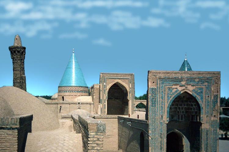 Bayazid-Moschee in Bastam (Iran)