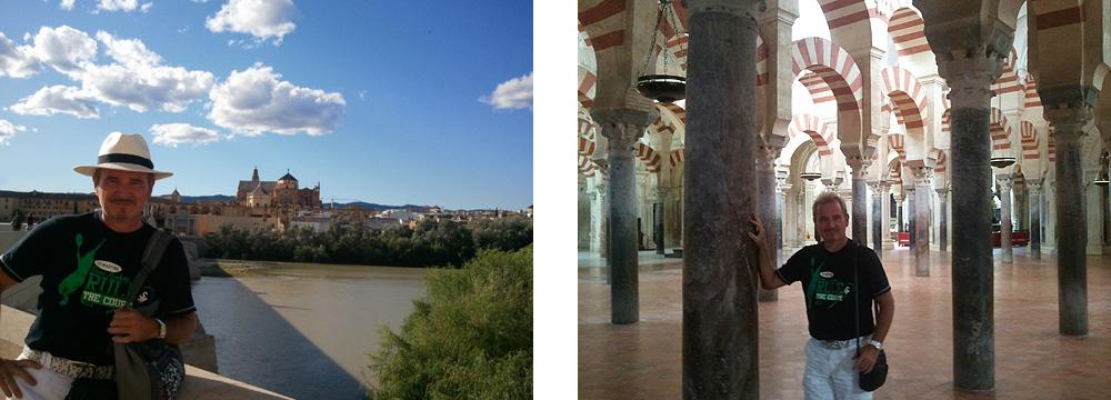 Cordoba-Stadtansicht & Cordoba- Moschee