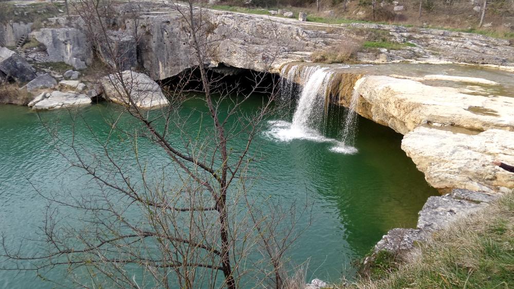 Natursee bei Pazin in Istrien