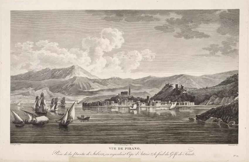 Piran-Historische Ansicht (1802)