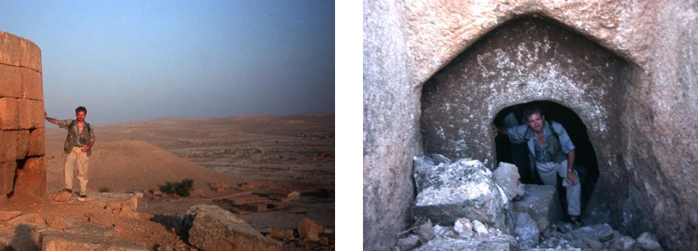 Eski Sumatar - Venus-Tempel & Eingang in die Krypta des Venus-Tempels