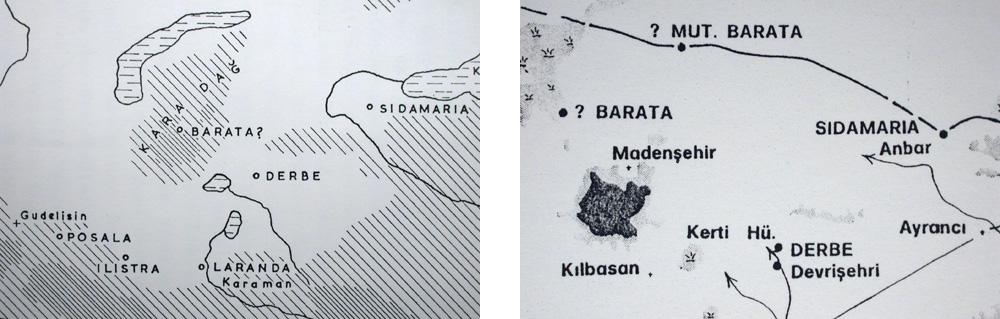 Lokalisierungen von Derbe 4