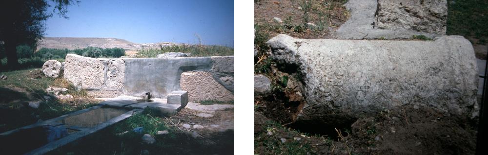 Lystra - Heilige Quelle (Hagiasma) & heute verschollene Tempel-Inschrift von Lystra