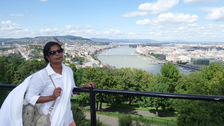 Manju Sarala Nair - Budapest - August 2014
