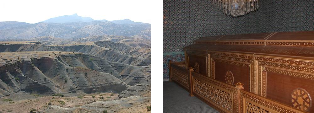 Al-Dschudi und das Grab des Propheten Noah in Cizre