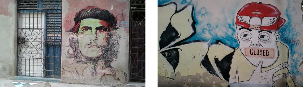 Havanna - Che Guevara & Graffiti