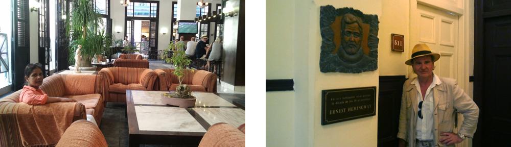 Hotel Ambos Mundos in Havanna & Zimmer Nr. 511 von Ernest Hemingway