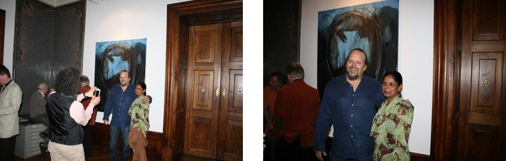 Manju S. Nair & Camilo Guevara (April 2014, Graz-Austria)