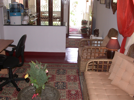 Living room & kitchen a