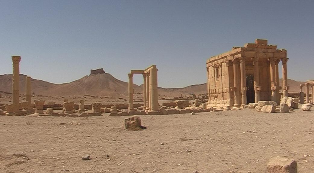 Baal-Schamin Tempel in Palmyra im Jahr 2007
