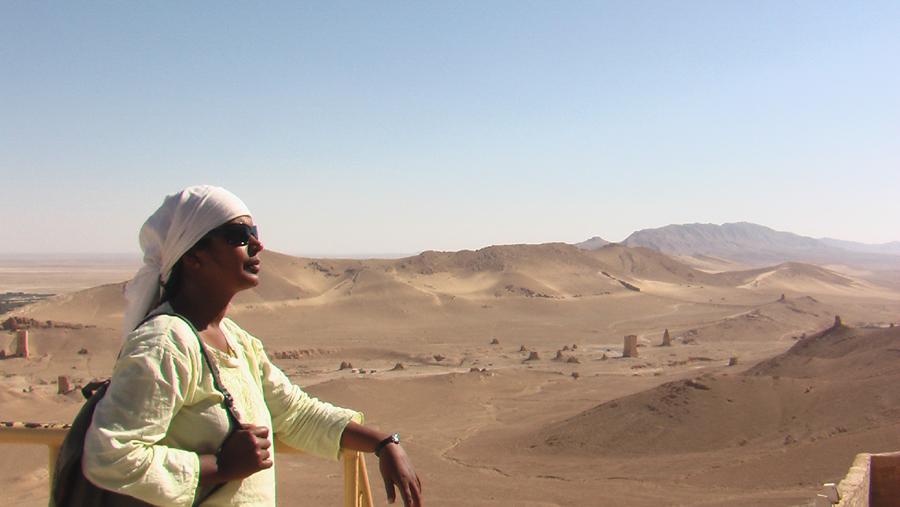 Manju Sarala Nair - Palmyra (Syrien) 3jpg