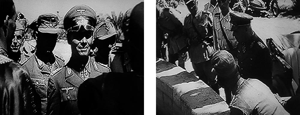 Erwin Rommel in Siwa & an der Sonnenquelle (Rechts)