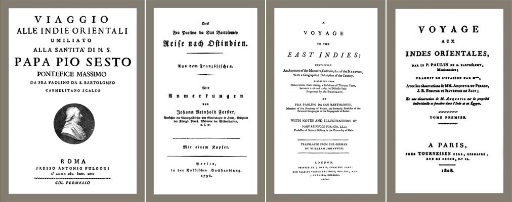 Johann Philipp Vezdin - Pater Paulinus a Sancto Bartholomaeo 3