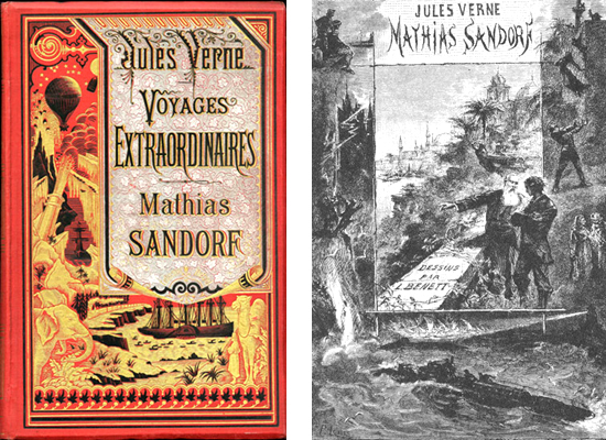 Jules Verne - Mathias Sandorf 1885