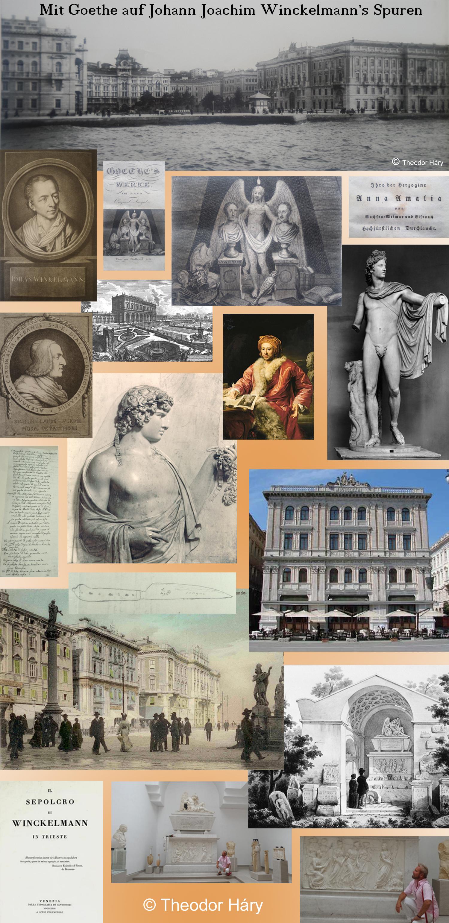 Homoerotik an der Adria - Mit Goethe auf Johann Joachim Winckelmann's Spuren