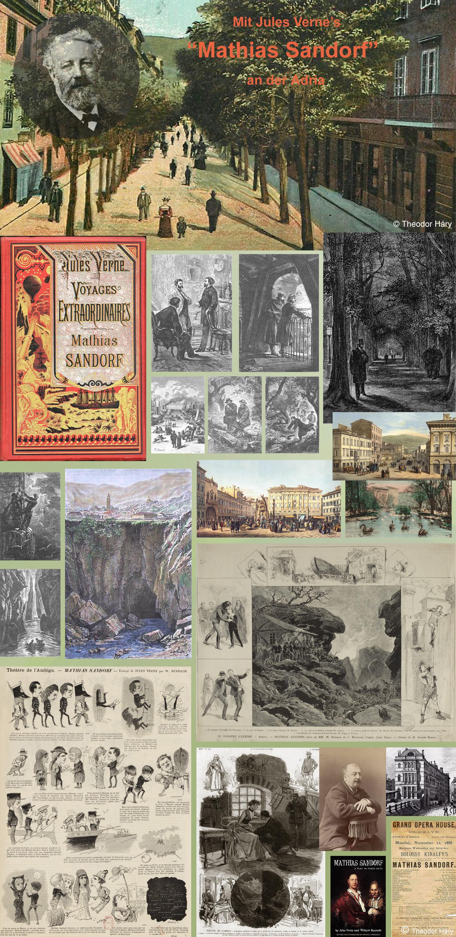 Homoerotik an der Adria - Mit Jules Verne's 'Mathias Sandorf' an der Adria