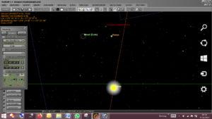 Lunar Crescent in Kappad on 12. april 2021 - B